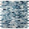 Blue cotton 12X12 Crystallized