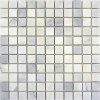 Carrara 1x1 Polished Marble Mosaic