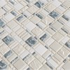 Chantilly Stax 8MM Gray Glass Mosaic