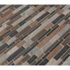 Cobrello Interlocking Pattern Mesh-Mounted Mosaic