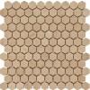 Crema Marfil Hexagon 1x1 Tumbled