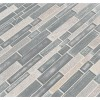 Evita Ice Interlocking 8mm Glass Wall Tile