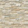 New Golden Honey 6X12x6 Split face Corner Ledger Panel