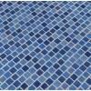 Hawaiian Sky 1X1 Staggered Glass Mosaic