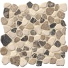 Mix Marble Pebbles 12X12 Tumbled