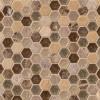 Kensington 1x1Hexagon 8mm Mosaic