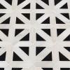 Retro Fretwork 12x12 Polished Marble Tile