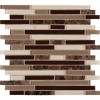 Royal Oaks Blend Interlocking 8MM Mosaic