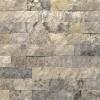Silver Travertine Random Loose Split Face Veneer Panels-Wet