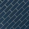 Midnight 2X6 Glossy Glass Subway Tile
