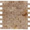Noce 1x2 Brick Split face Mosaic