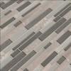 Snowmass Interlocking 8mm Glass Wall Tile