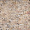 Tuscany Scabas 1x2 Split Face Travertine Mosaic