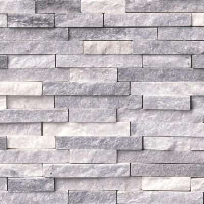 Alaskan Gray Splitface Interlocking Pattern Mosaic