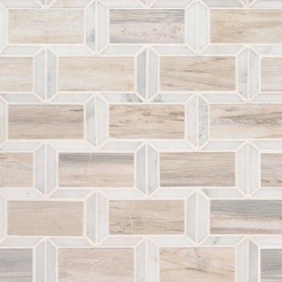 Victorian 12x12 Polished Marble Tile