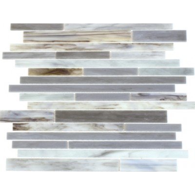 Antique Ice 12x12 Glass Mix Mosaic