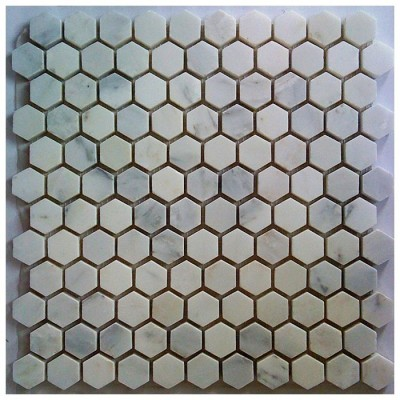 Arabescato Carrara Hexagon