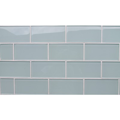 Azure-Glass 3x6 Subway Tile
