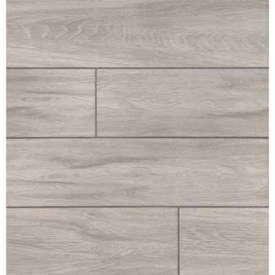 Carolina Timber White 6X24 Matte Ceramic Tile