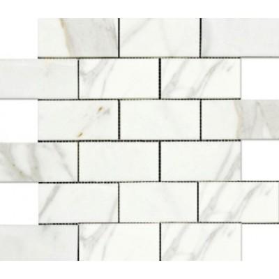 Calacutta 2x4 Brick Polished Mosaic