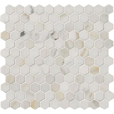 Calacatta Gold Hexagon 12x12 Polished