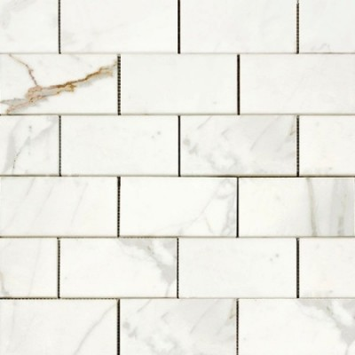 Calacutta 3x6 Polished Subway Tile