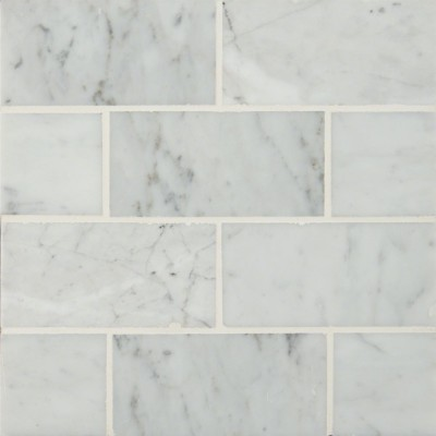 Carrara White 3x6 Polished