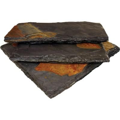 Charcoal Rust Cap 12x24