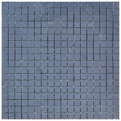 Black Marble 5/8 China Black 5/8X5/8 Polished Marble Mosaic