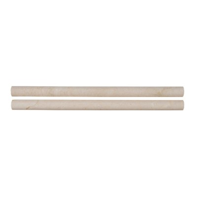 Crema Marfil Pencil 3/4x3/4x12 Polished