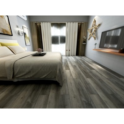 Cyrus Katella Ash 7x48 Glossy Wood Look Vinyl Tile