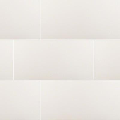 Domino White 12X24 Polished