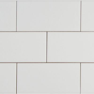 White Glossy 4X16 Glazed Tile