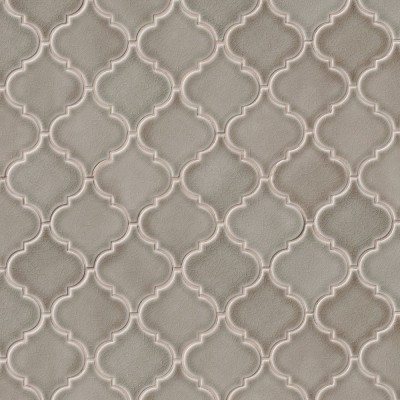 Dove Gray Arabesque Ceramic 8mm