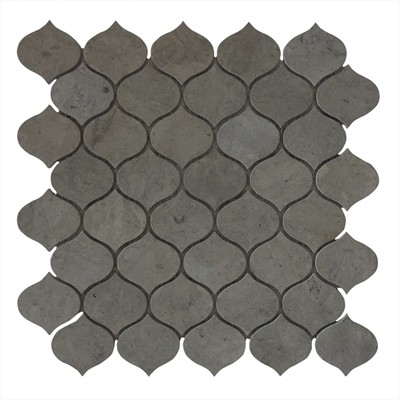 Drople Dark Gray 11X12 Honed Mosaic