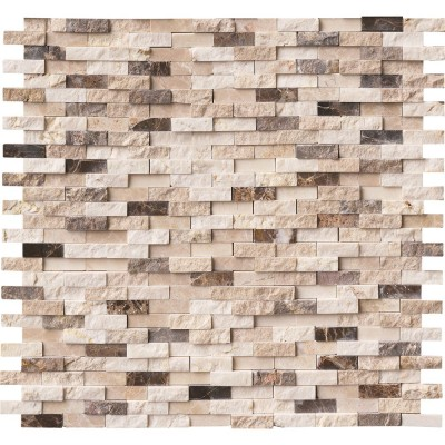 Emperador Blend Split face Interlocking Pattern