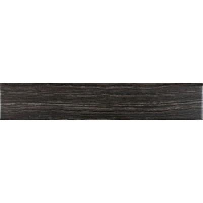 Eramosa Grey Bullnose 3x18 Glazed
