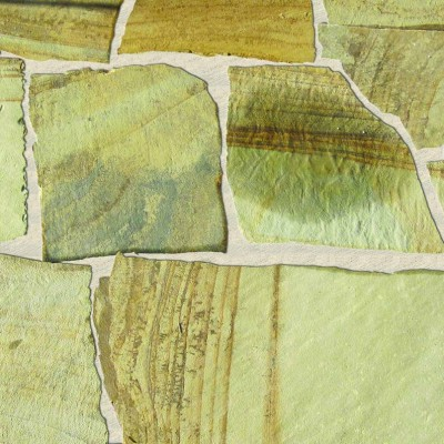 Fossil Rustic Random Flagstone