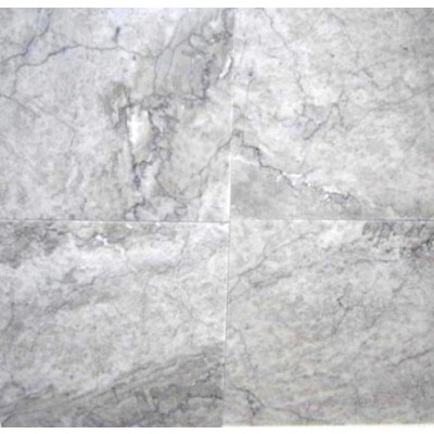 Gray Cloud 12x12 Polished Marble Tile