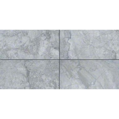 Gray Cloud 12X24 Polished Marble Tile