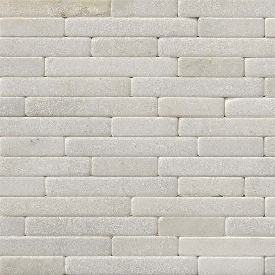 Greecian White 8x18 Tumbled Veneer