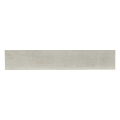 Gridscale Gris Bullnose 3X18 Glossy Porcelain Tile