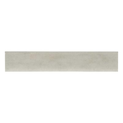 Gridscale Ice Bullnose 3X18 Matte Porcelain Tile