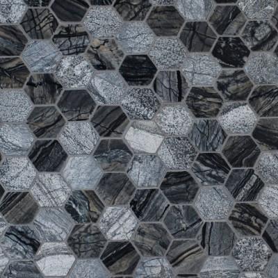 Henley 2x2 Hexagon Mutli Finish Mosaic