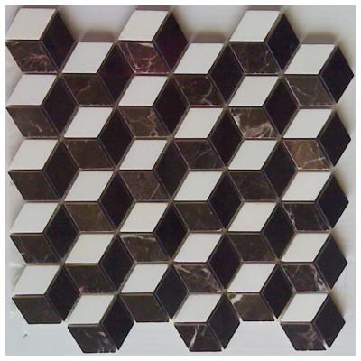 Illusion 3D Mosaic Interlocking