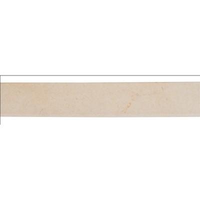 Ivory 3X18 Matte Bullnose
