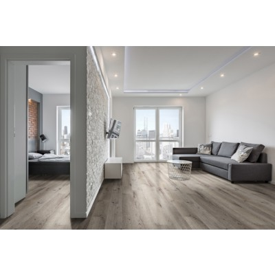 Katavia Charcoal Oak 6x48 Glossy Wood LVT