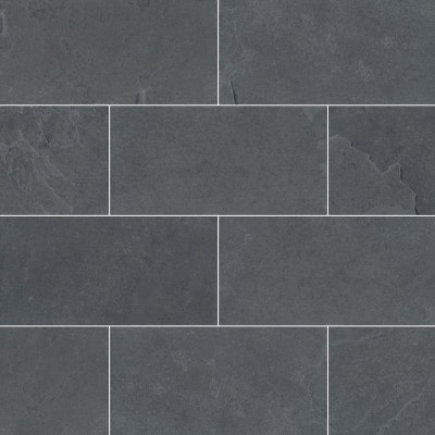 Montauk Black 3x6 Gauged Subway Tile