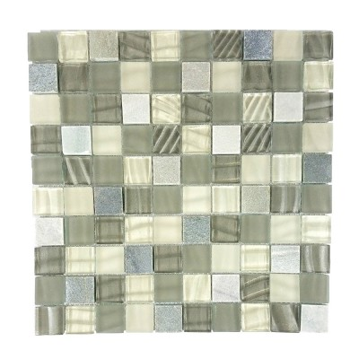 New Era II Collection 1-1/4 x 1-1/4 Shell Grey