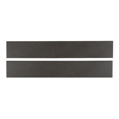 Optima Graphite Bullnose 4x24 Matte Porcelain Tile